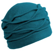 Asian Eye Lori Hat - Boiled Wool (For Women) in Turquoise - Closeouts
