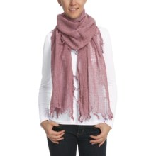 Asian Eye Mystique Scarf - Wool (Women) in Mulberry - Closeouts