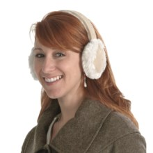 Asian Eye Sasha Earmuffs (For Women) in Beige/Natural - Closeouts