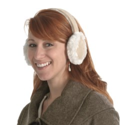 Asian Eye Sasha Earmuffs (For Women) in Beige/Natural
