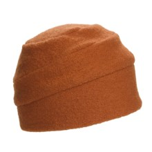 Asian Eye Sporty Cap - Wool (For Women) in Rust - Closeouts