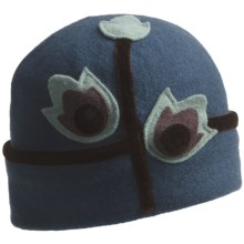 Asian Eye Talulah Hat - Wool (For Women) in Teal/Brown - Closeouts