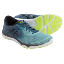 ASICS 33-DFA Running Shoes (For Men) in Mallard Blue/Black/Flash Yellow - Closeouts