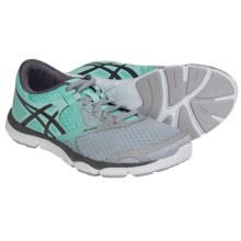 ASICS 33-DFA Running Shoes (For Women) in Gray/Charcoal/Mint - Closeouts