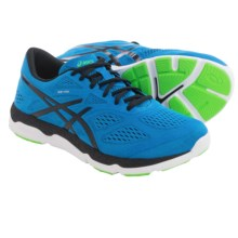 ASICS 33-FA Running Shoes (For Men) in Blue/Black/Flash Green - Closeouts