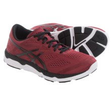 ASICS 33-FA Running Shoes (For Men) in Deep Ruby/Black/White - Closeouts
