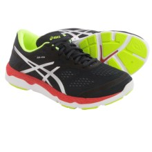 ASICS 33-FA Running Shoes (For Men) in Onyx/Flash Yellow/Chinese Red - Closeouts