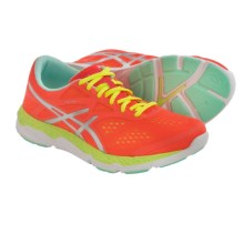 ASICS 33-FA Running Shoes (For Women) in Coral/Flash Yellow/Mint - Closeouts