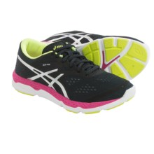 ASICS 33-FA Running Shoes (For Women) in Onyx/Hot Pink/Flash Yellow - Closeouts