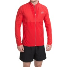 ASICS Athlete Jacket - Full Zip (For Men) in True Red - Closeouts