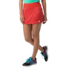 ASICS Athlete Skort (For Women) in Hibiscus - Closeouts