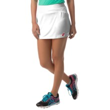 ASICS Athlete Skort (For Women) in Real White - Closeouts