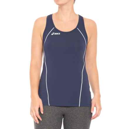 ASICS Attacker Tank Top (For Women) in Navy/White - Closeouts