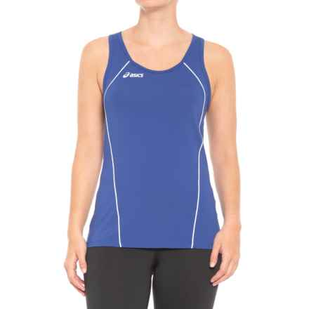ASICS Attacker Tank Top (For Women) in Royal/White - Closeouts
