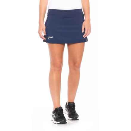 ASICS Attacker Tennis Skort (For Women) in Navy - Closeouts