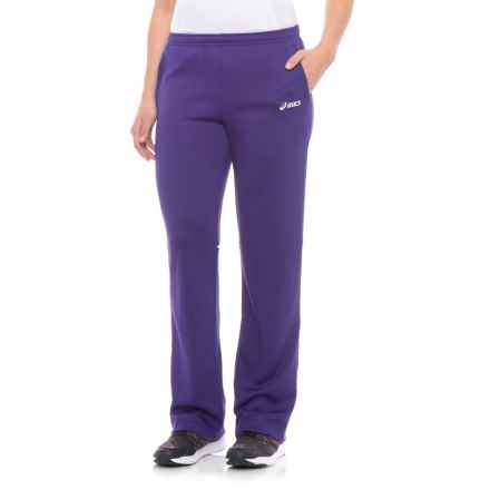 ASICS Cali Pants (For Women) in Purple/White - Closeouts
