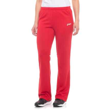 ASICS Cali Pants (For Women) in Red/White - Closeouts