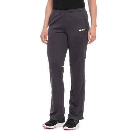 ASICS Cali Pants (For Women) in Steel Grey/White - Closeouts