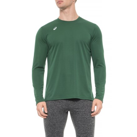 846d23b5d6 ASICS Circuit 8 Shirt - Long Sleeve (For Men) in Forest - Closeouts