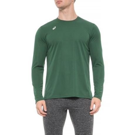 2e19c87fc164 ASICS Circuit 8 Shirt - Long Sleeve (For Men) in Forest