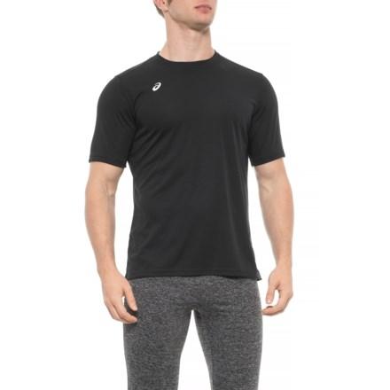 51bcea2af866ae ASICS Circuit 8 T-Shirt - Short Sleeve (For Men) in Black -