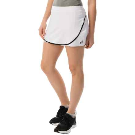 ASICS Club Skort (For Women) in Real White - Closeouts