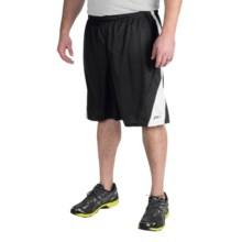 ASICS Crosse Basketball Shorts (For Men) in Black/White - Closeouts