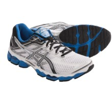 Asics Cumulus 15 Running Shoes (For Men) in White/Black/Royal - Closeouts