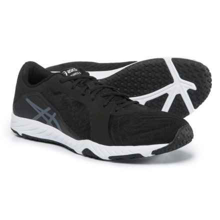 ASICS Defiance X Cross-Training Shoes (For Men) in Black/Carbon/White - Closeouts
