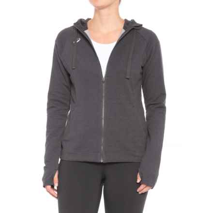 ASICS Everyday Hoodie (For Women) in Graphite - Closeouts