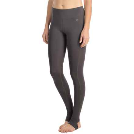 ASICS Fit-Sana Barre Tights (For Women) in Dark Grey - Closeouts