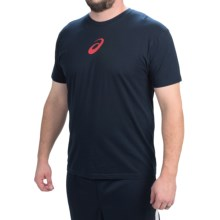ASICS Focused Driven Victorious T-Shirt - Short Sleeve (For Men) in Navy - Closeouts