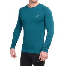ASICS FujiTrail Base Layer Top - Long Sleeve (For Men) in Mosaic Blue - Closeouts