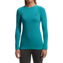 ASICS FujiTrail Base Layer Top - Long Sleeve (For Women) in Turkish Sea - Closeouts