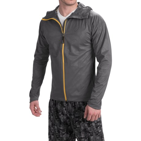 ASICS FujiTrail Soft Shell Jacket Full Zip, Hooded (For Men)