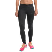 ASICS FujiTrail Tights (For Women) in Balance Black - Closeouts