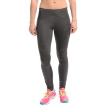 ASICS FujiTrail Tights (For Women) in Dark Grey - Closeouts