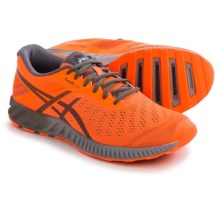 ASICS FuzeX Lyte Running Shoes (For Men) in Orange/Carbon/White - Closeouts