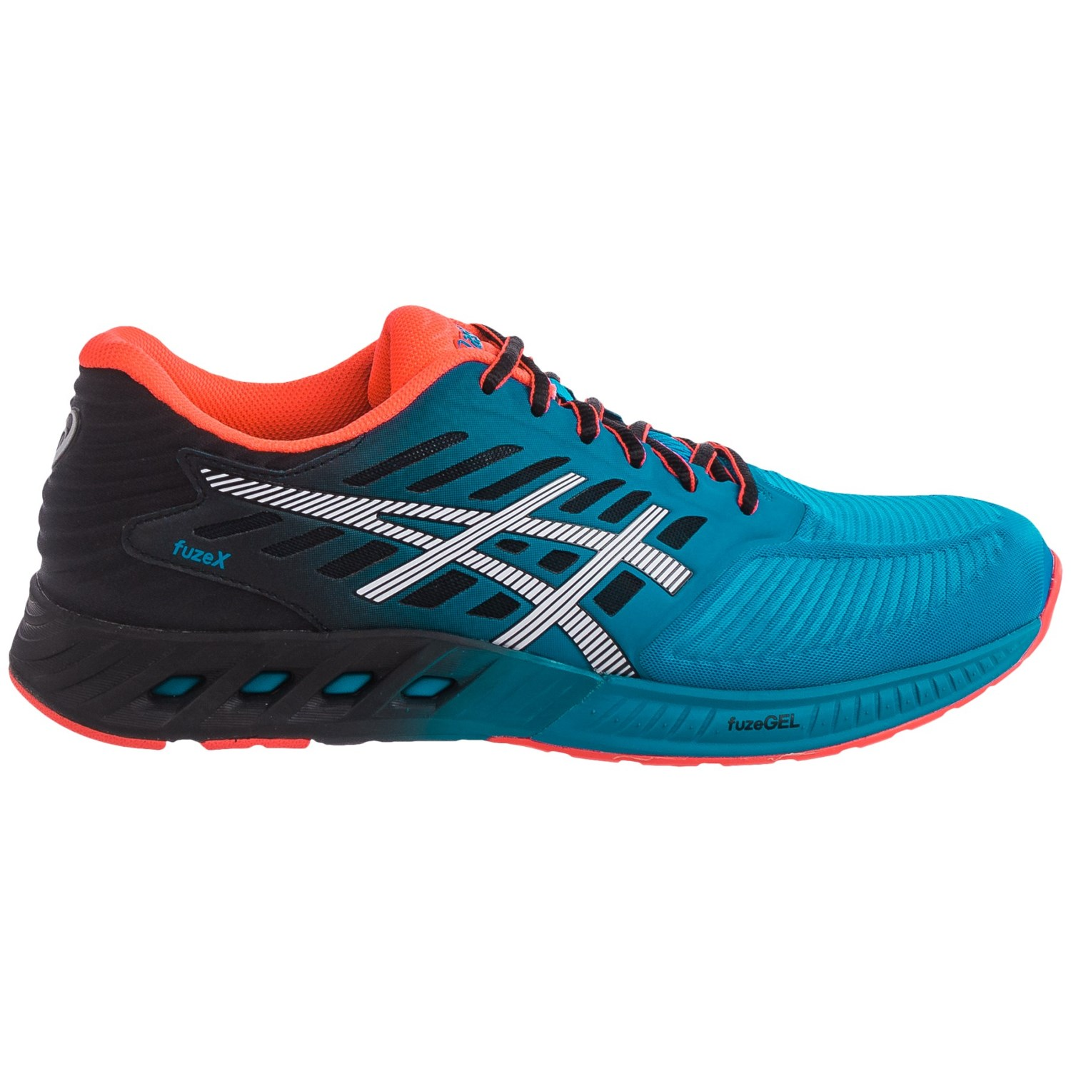 asics fuzex running shoes for save 36