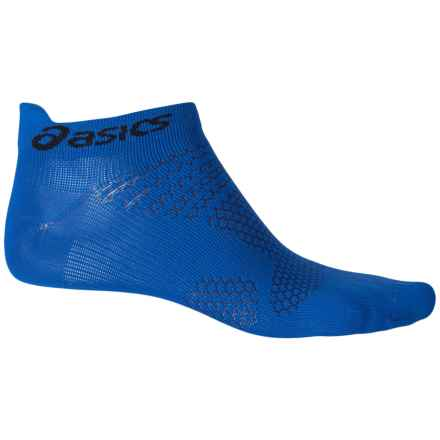 ASICS Fuzex Single Tab No-Show Socks - Below the Ankle (For Men and Women) in Airforce Blue - Closeouts