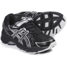 Asics GEL-1170 PS Running Shoes (For Kids) in Black/Onyx/Silver - Closeouts