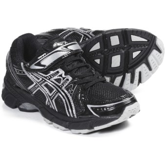Asics GEL-1170 PS Running Shoes (For Kids) in Black/Onyx/Silver