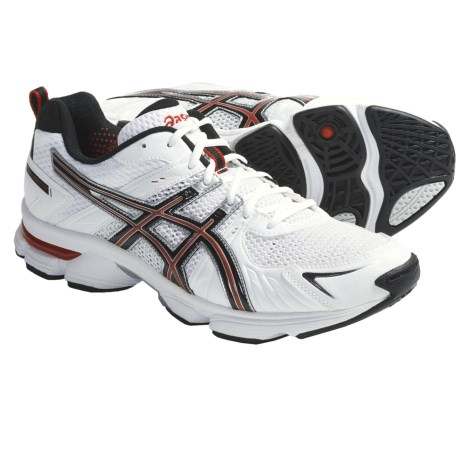 Asics GEL-260TR Running Shoes (For Men) in White/Black/Red