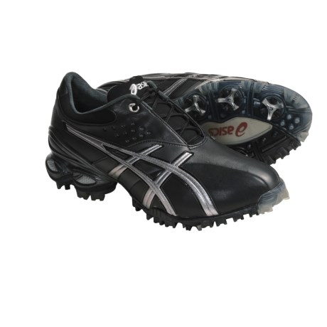Asics GEL-Ace Golf Shoes (For Men) in Black/Silver