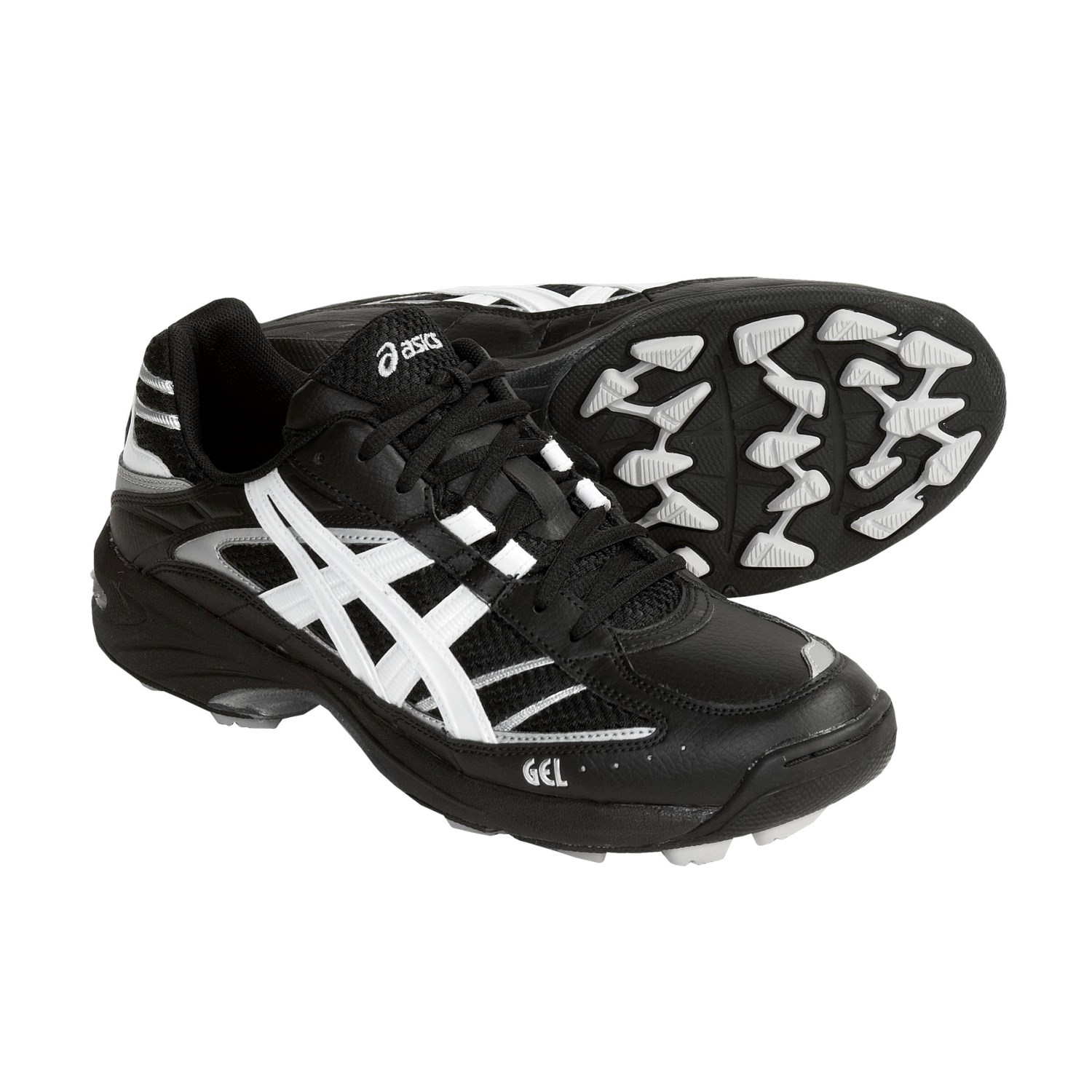 GEL-Blackheath Field Sport Shoes (For Women) in Black/White/Silver