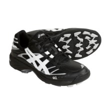 Asics GEL-Blackheath Field Sport Shoes (For Women) in Black/White/Silver - Closeouts