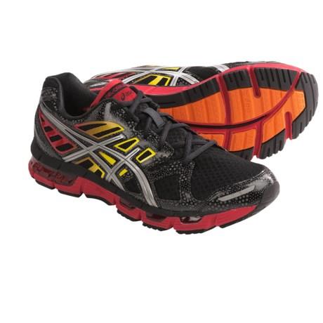 Asics GEL-Cirrus33 2 Running Shoes (For Men) in Black/Lightning/Fire