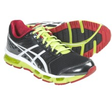 Asics GEL-Cirrus33 Running Shoes (For Men) in Black/White/Red - Closeouts