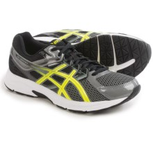 ASICS GEL-Contend 3 Running Shoes (For Men) in Carbon/Flash Yellow/Black - Closeouts