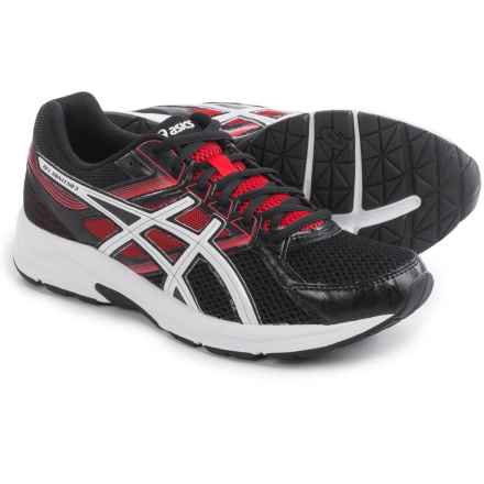 ASICS GEL-Contend 3 Running Shoes (For Men) in Onyx/Snow/Racing Red - Closeouts